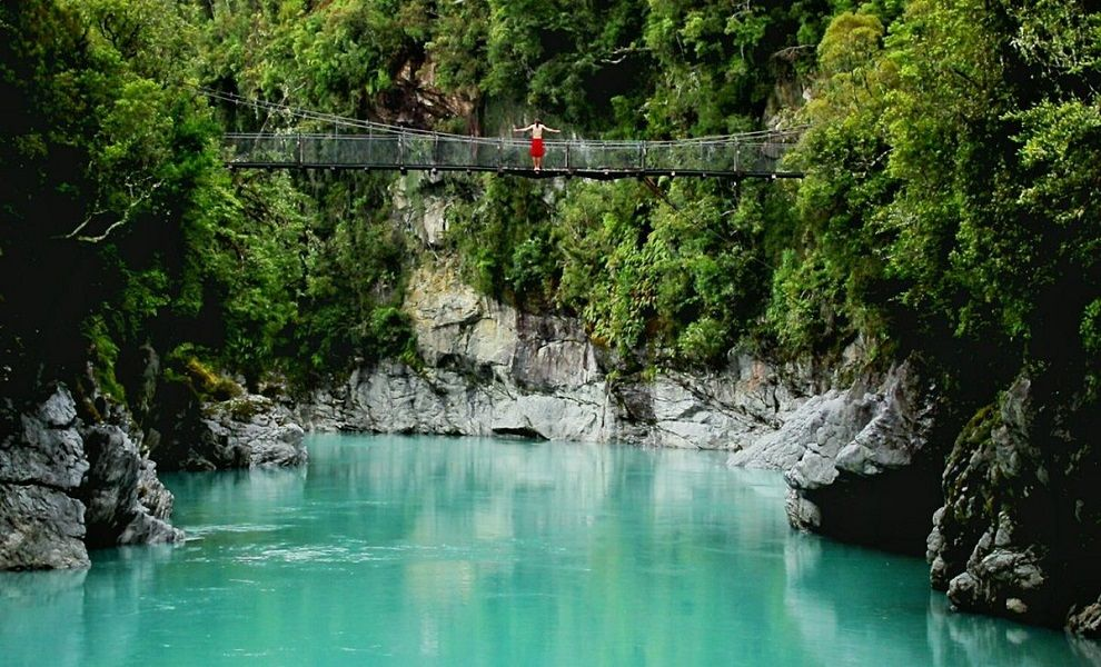 Hokitika Gorge - New Zealand