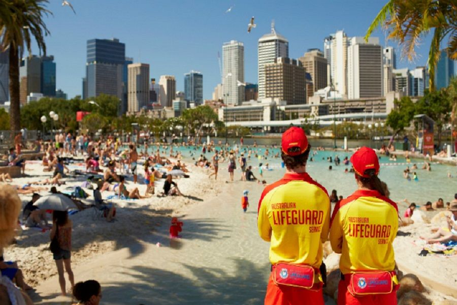 Streets Beach Southbank Brisbane