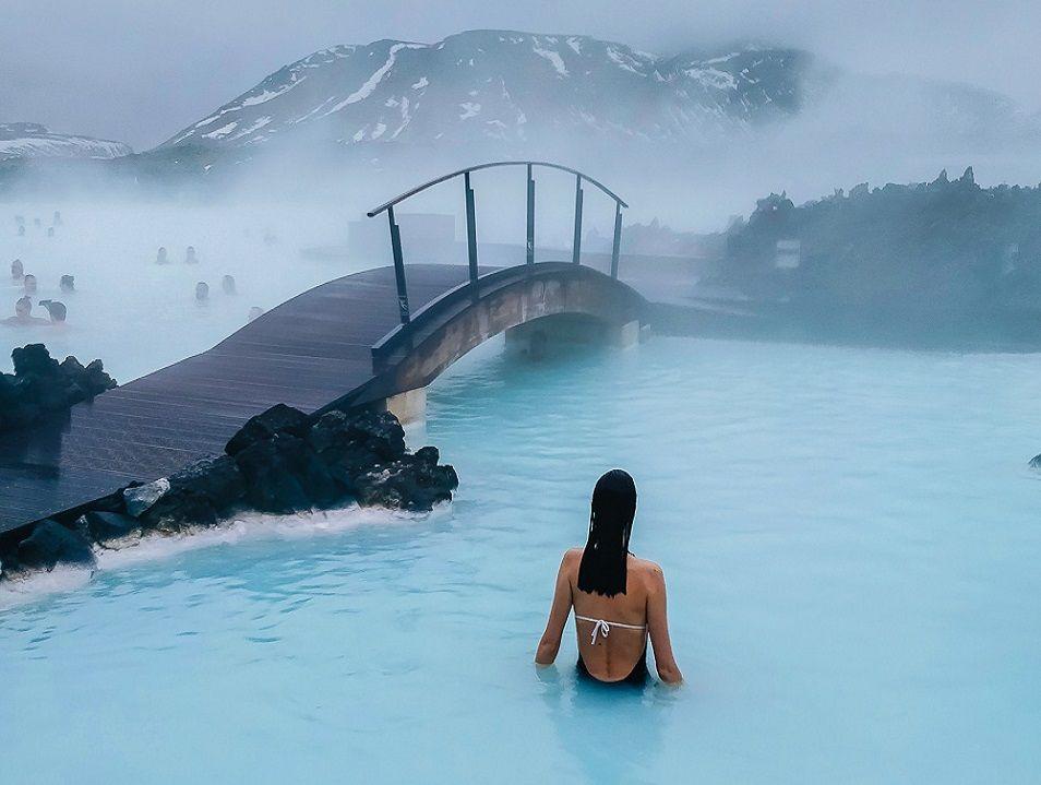 geothermal Blue Lagoon - Iceland